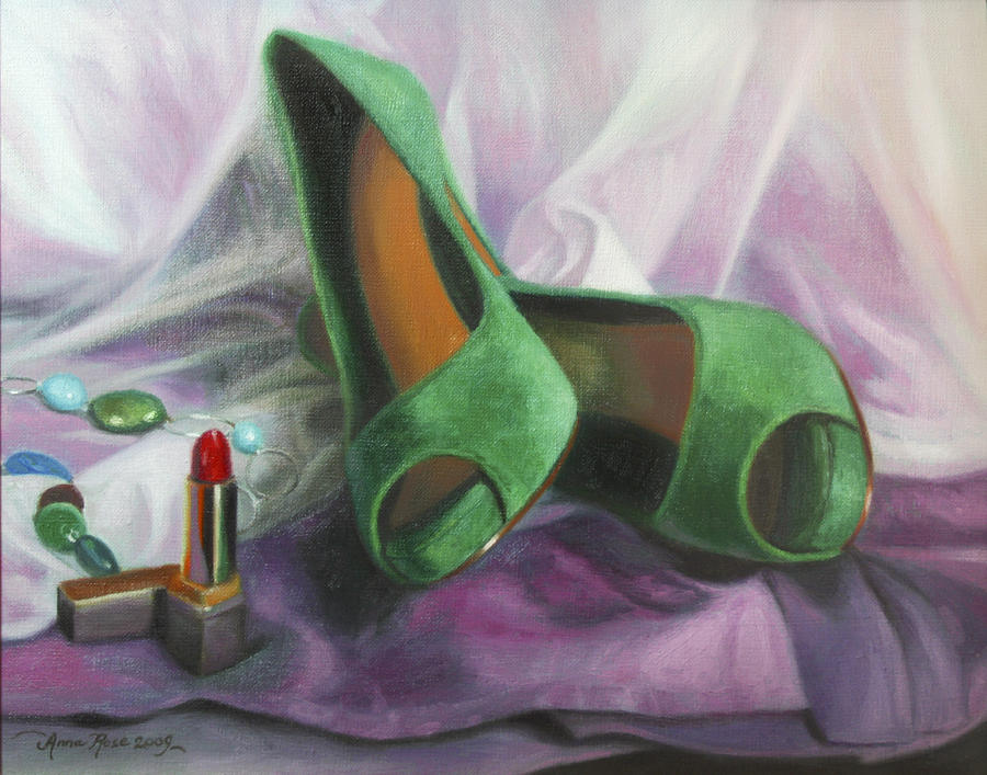 Party Shoes Painting