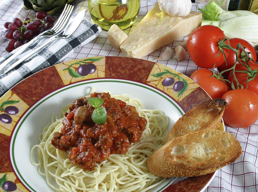 Horizontal Photograph - Pasta Dish 2 by Jack Dagley