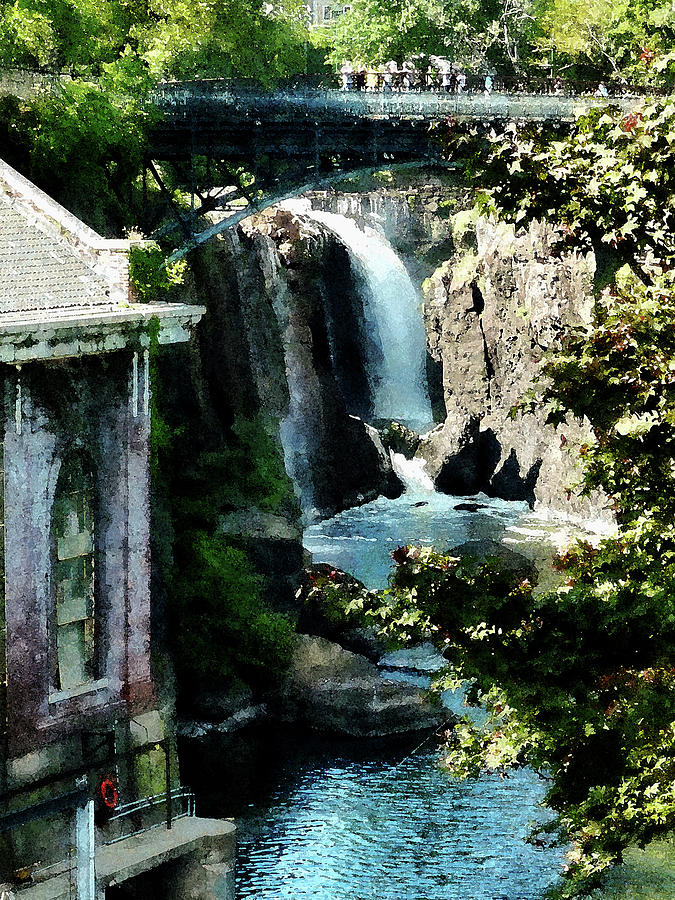 Summer Photograph - Paterson Falls by Susan Savad