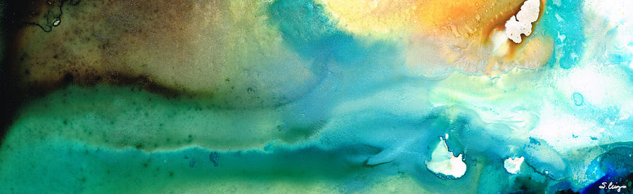 Abstract Art Painting - Pathway To Zen by Sharon Cummings