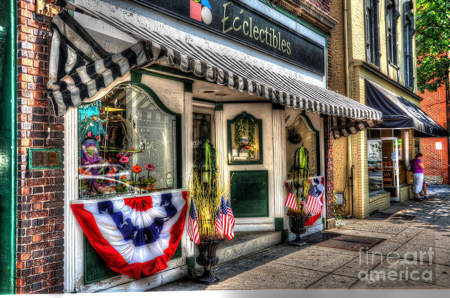 City Photograph - Patriotic Street by Debbi Granruth