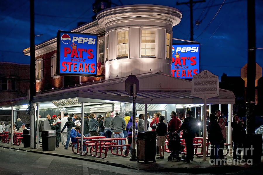 Philadelphia Photograph - Pats Steaks by John Greim