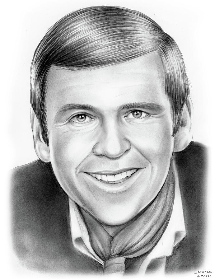 Paul Lynde Drawing