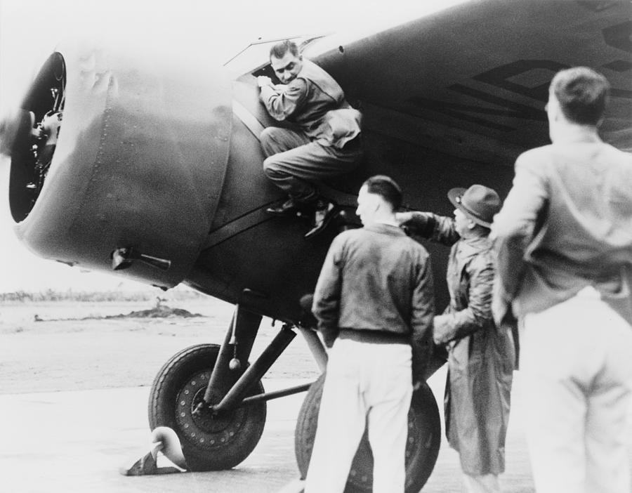 History Photograph - Paul Mantz, Stunt Pilot And Air Racer by Everett