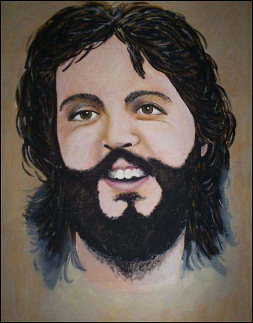 Paul Mccartney Painting - Paul Mccartney by Michelle Williams