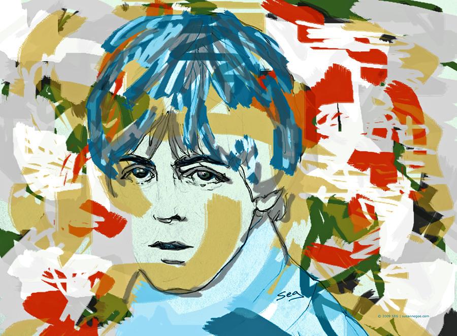 Paul Mccartney Painting - Paul Mccartney by Suzanne Gee