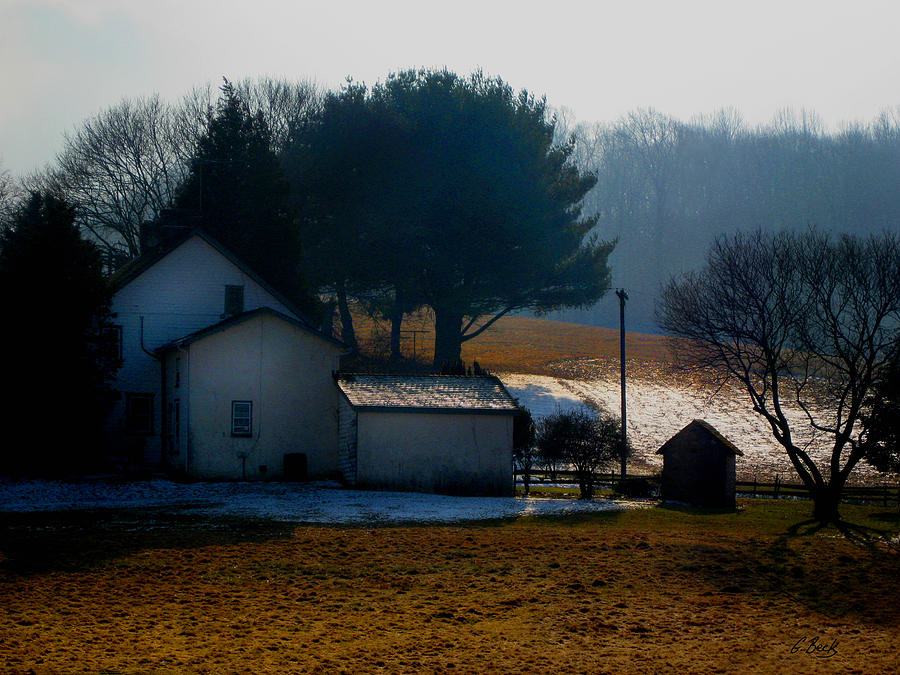 Brandywine Photograph - Peace In The Valley by Gordon Beck