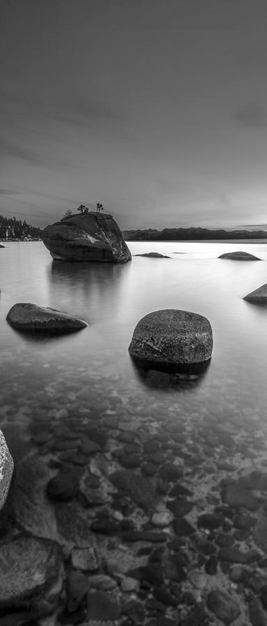 Black And White Photograph - Peaceful Shores by Brad Scott