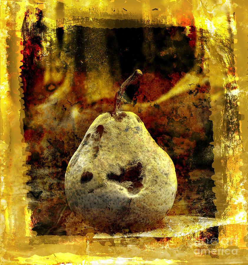 Art Photograph - Pear by Bernard Jaubert