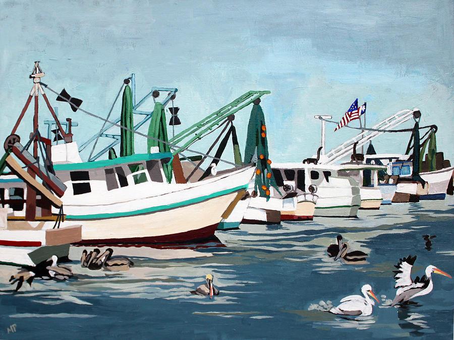 Pelican Patrol Painting