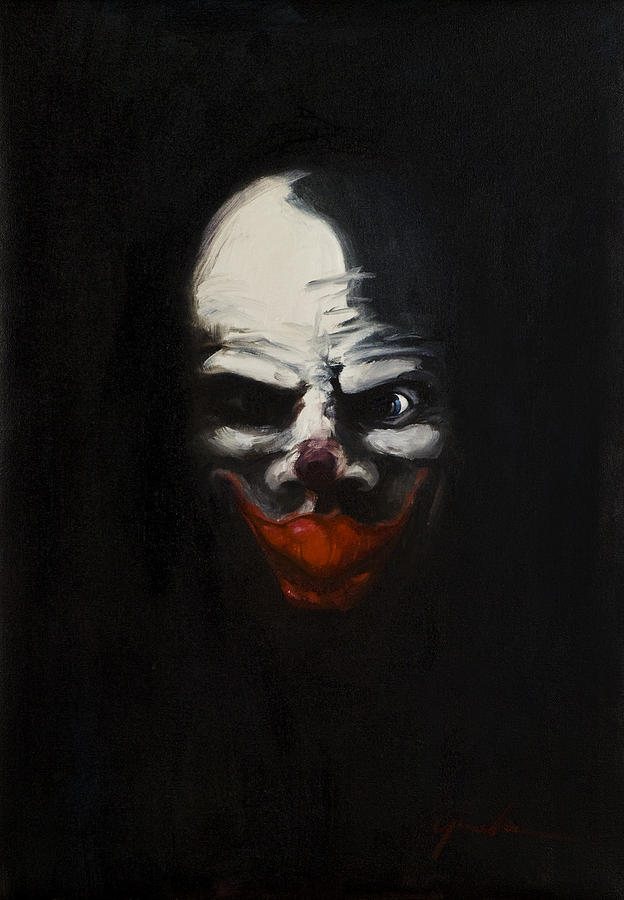 Pennywise Oil Painting