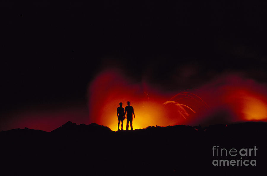 People View Lava Photograph