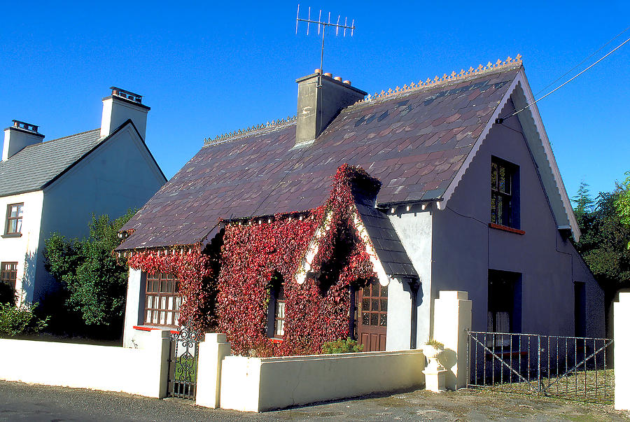 Perfect Cottage In Adare In Ireland Photograph By Carl Purcell