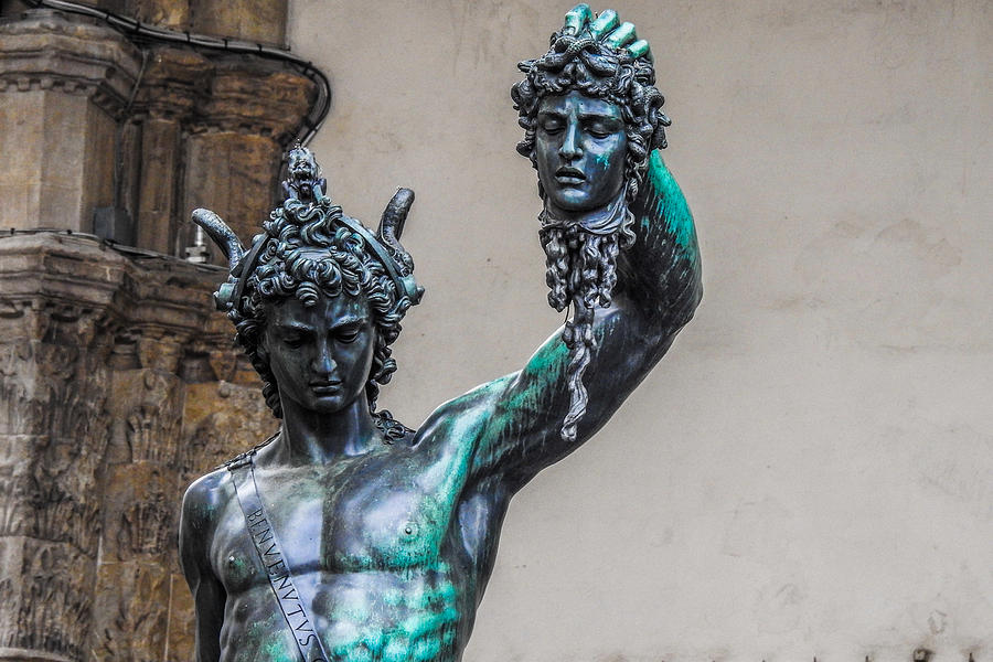 Perseus and Medusa by Atarial on DeviantArt  |Perseus With The Head Of Medusa Painting