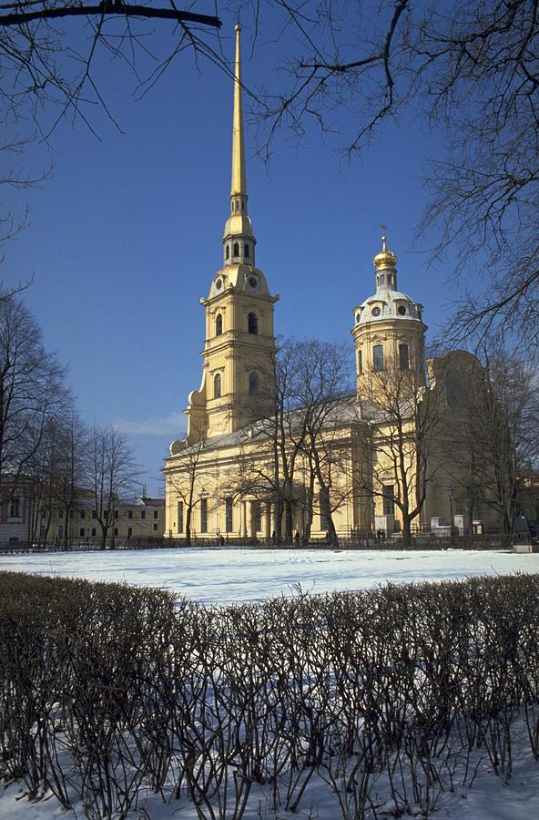 Peter And Paul Cathedral Photograph