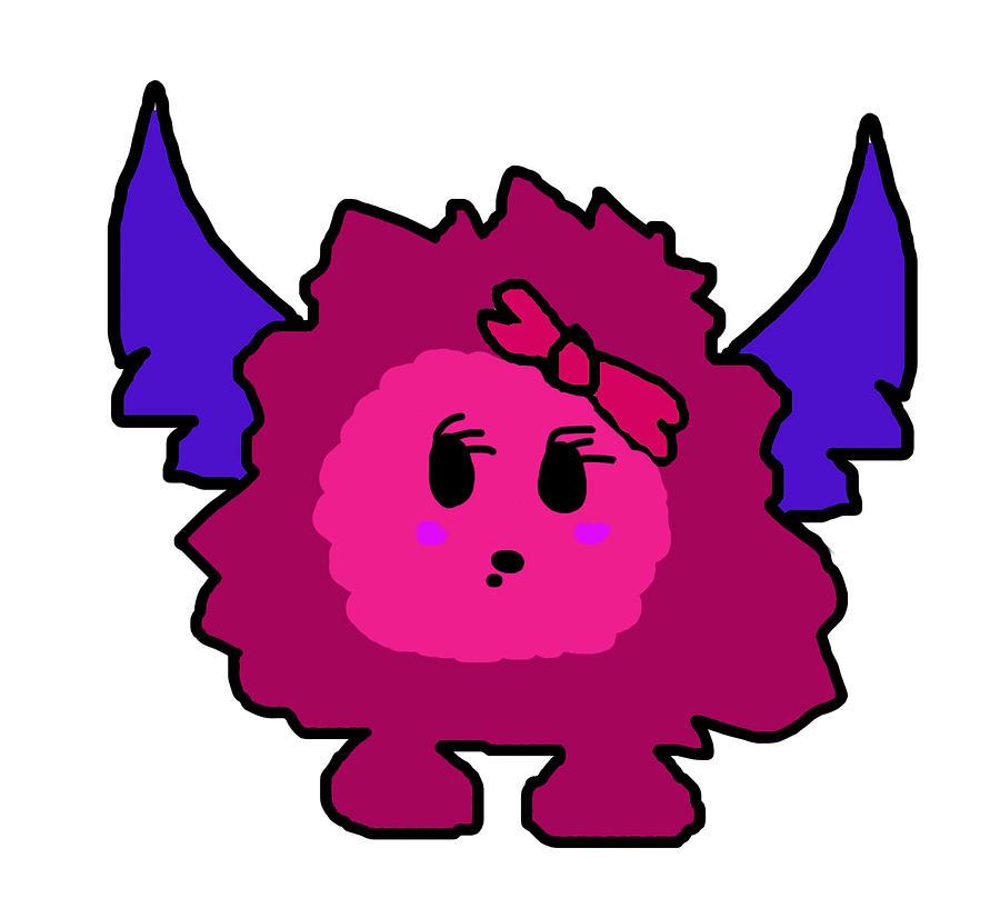 Pink Digital Art - Petunia Blueberry by Jera Sky
