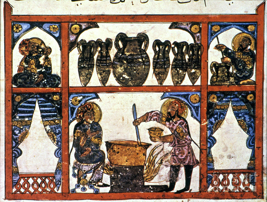 13th Century Photograph - Pharmacy: Arabic Ms by Granger