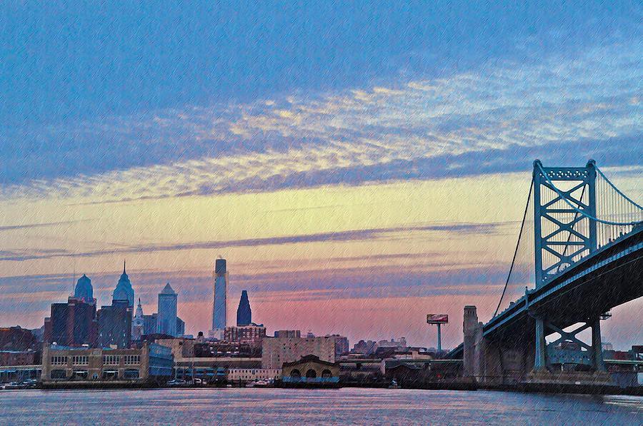 Philadelphia Photograph - Philadelphia At Dawn by Bill Cannon