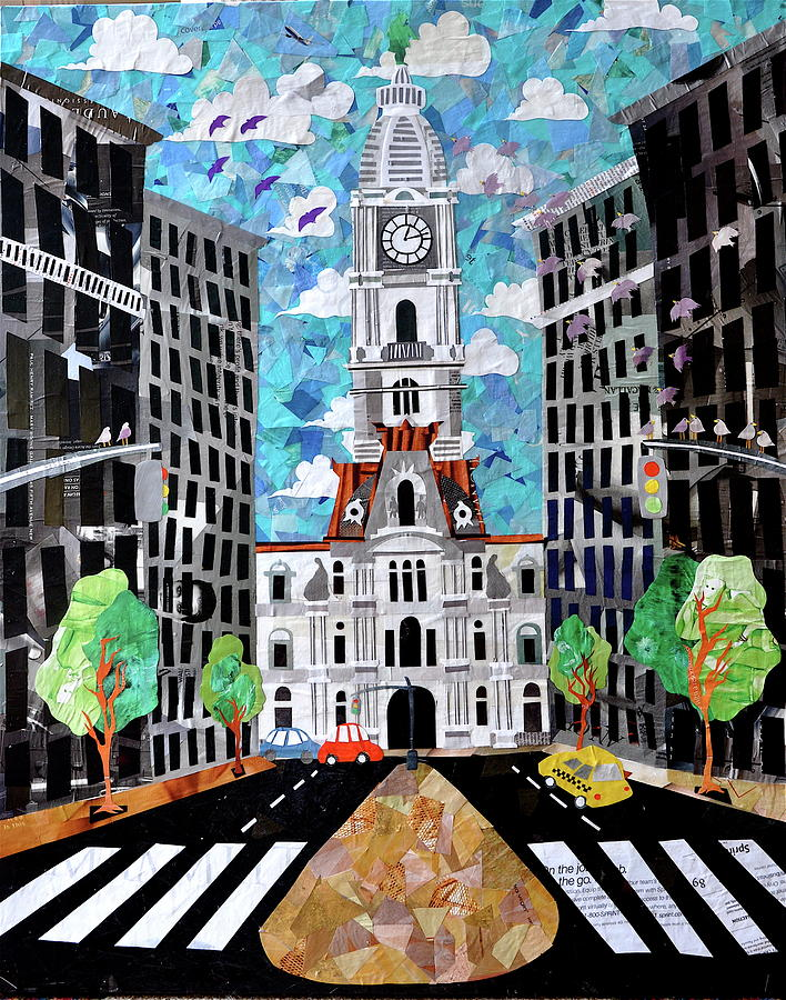 Philadelphia Painting - Philadelphia by Blair Barbour