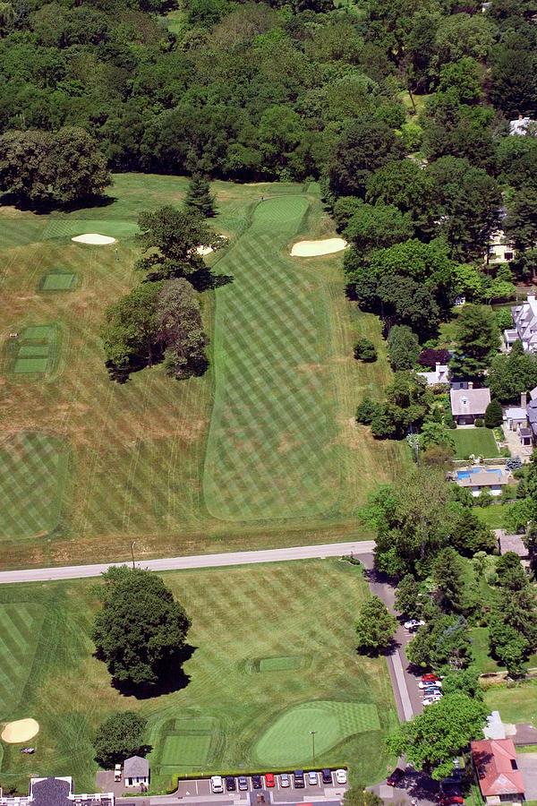 Philadelphia Cricket Club Photograph - Philadelphia Cricket Club St Martins Golf Course 1st Hole 415 W Willow Grove Avenue Phila Pa 19118 by Duncan Pearson