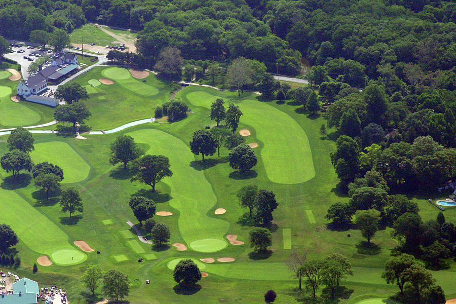 Philadelphia Cricket Club Wissahickon Golf Course 1st And 18th Holes Photograph