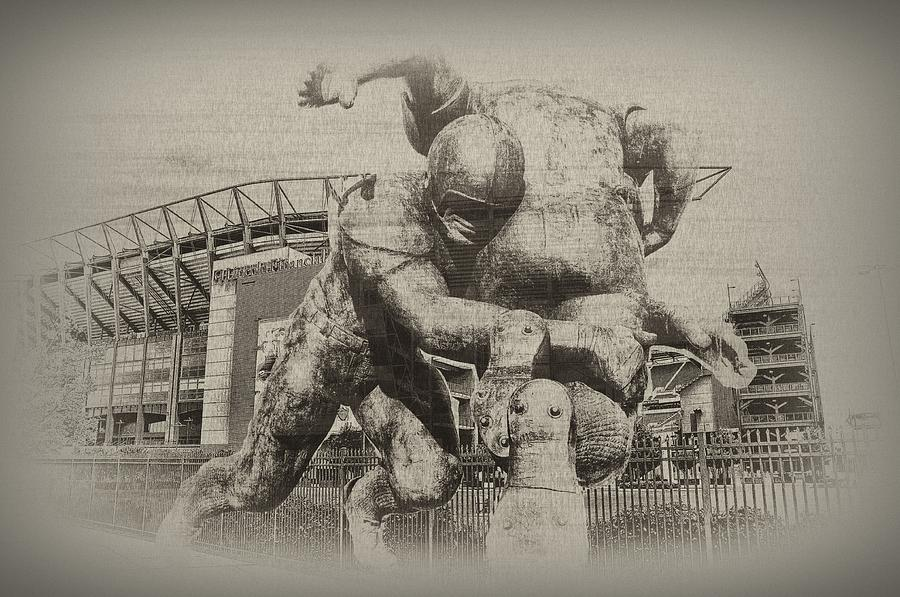 Lincoln Financial Field  Football  Photograph - Philadelphia Eagles At The Linc by Bill Cannon