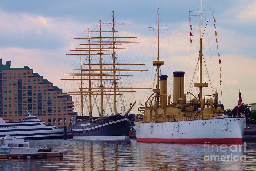 Philadelphia Waterfront Olympia Photograph