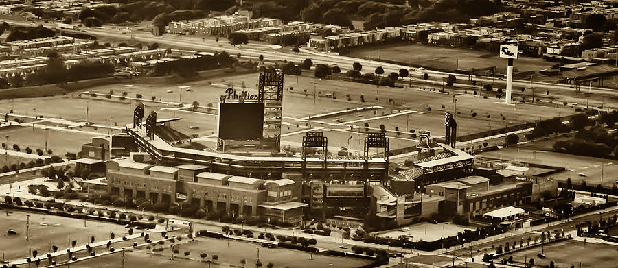 Sports Photograph - Phillies Stadium - Citizens Bank Park by Bill Cannon