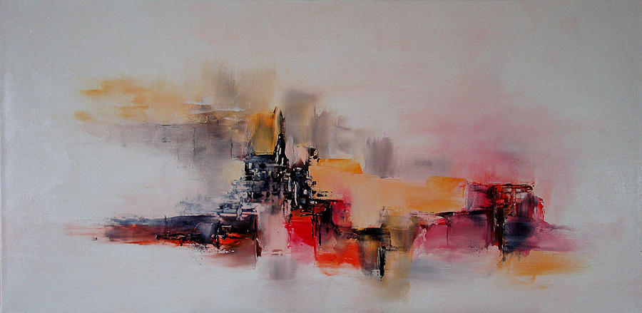Abstract Painting - Phoebus by Francoise Dugourd-Caput