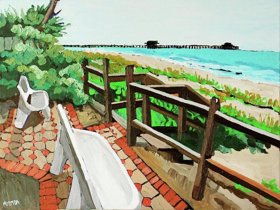 Pier Painting
