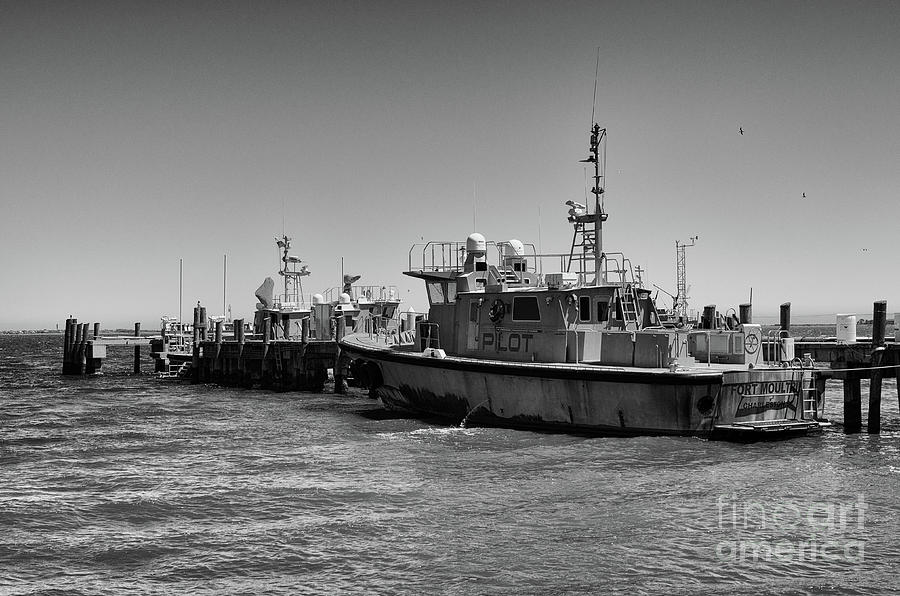 Pilot Boat Fort Moultrie Photograph