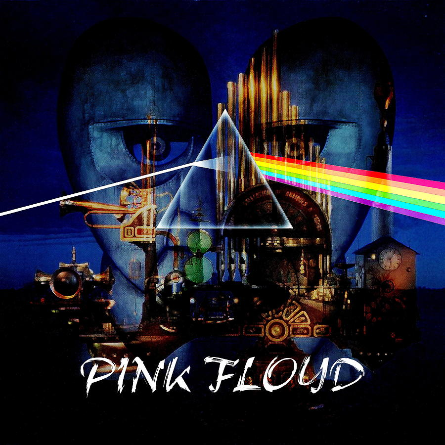Pink Floyd Montage Digital Art By P Donovan