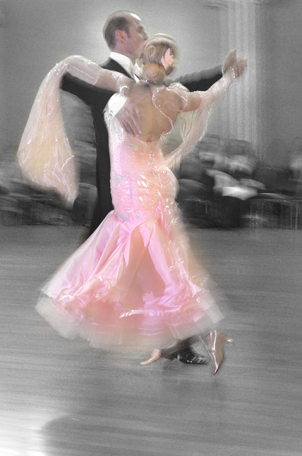Pink Lady Dancing Photograph