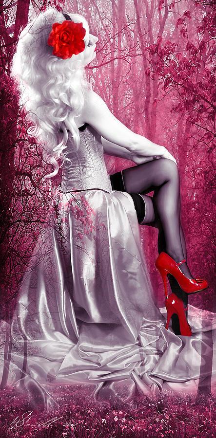 Model Digital Art - Pink by Svetlana Sewell