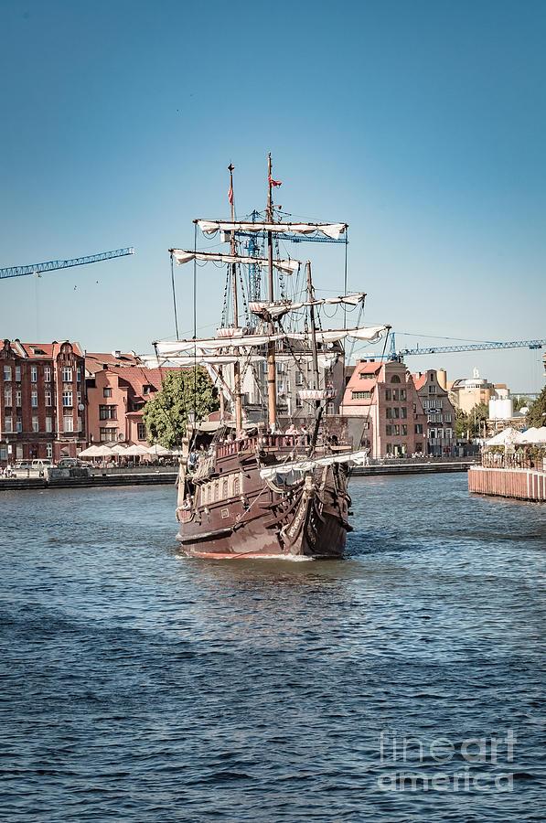 Pirate Ship, Gdansk Photograph