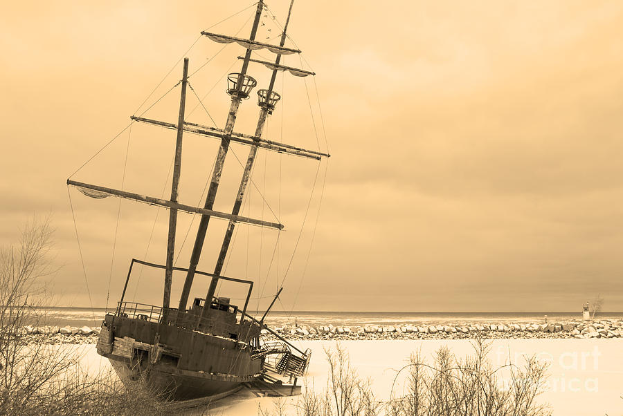 Shipwreck Photograph - Pirates In The Harbour by DebraLee Wiseberg