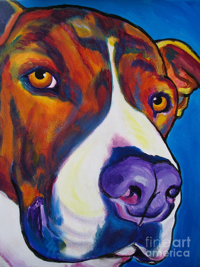 Pit Bull - Eric Painting