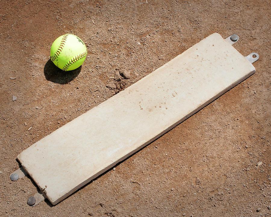 Softball Photograph - Pitchers Mound by Kelley King