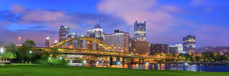 Steelers  Photograph - Pittsburgh Pano 9 by Emmanuel Panagiotakis
