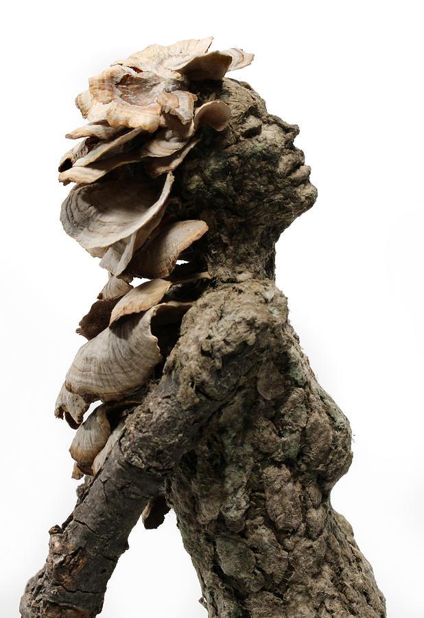 Art Sculpture - Placid Efflorescence A Sculpture By Adam Long by Adam Long