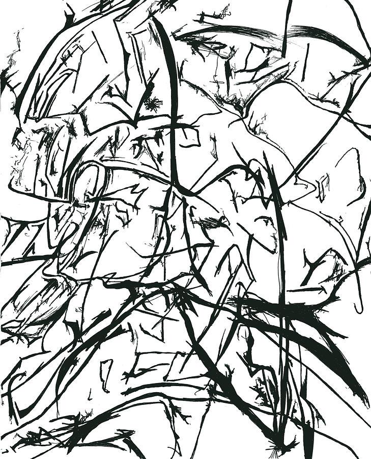 Plasmogamy Drawing - Plasmogamy021 by TripsInInk