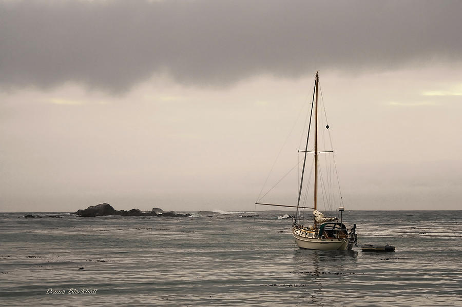 Ocean Photograph - Play Misty For Me by Donna Blackhall