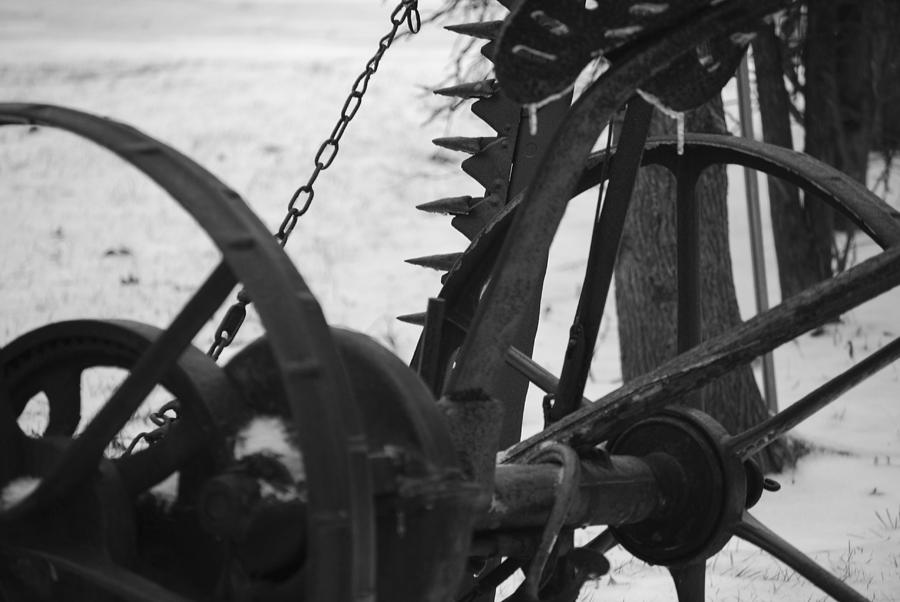 Machinery Photograph - Plow by Peter  McIntosh