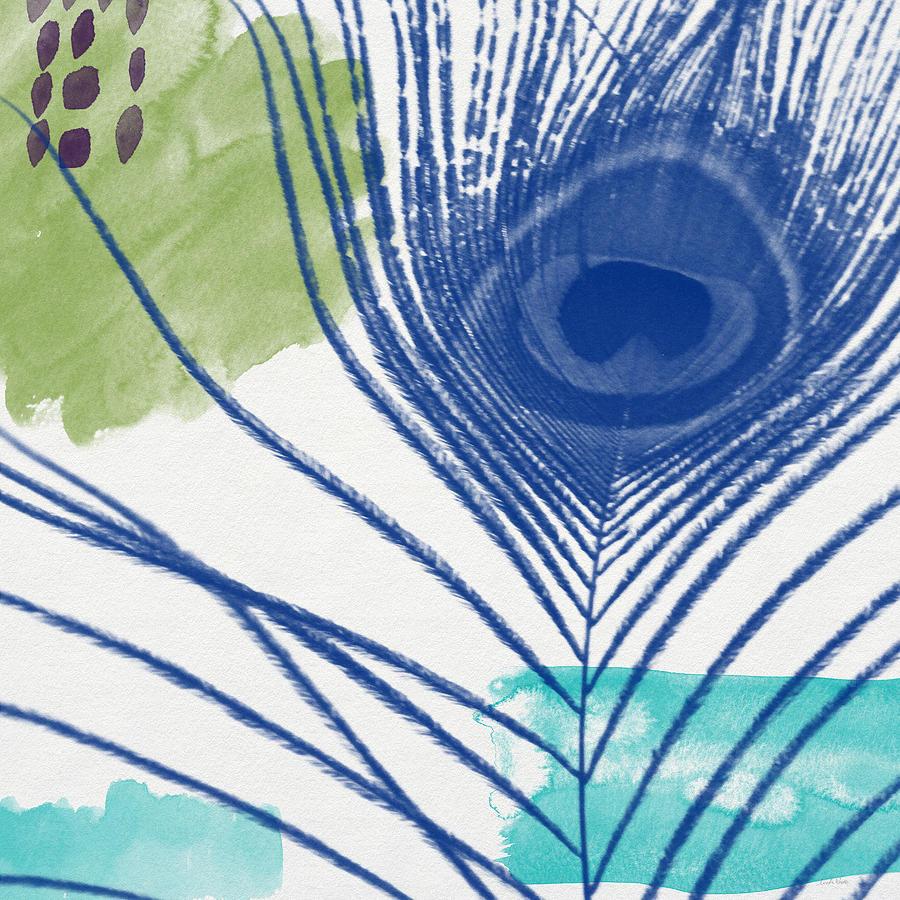 Plumage 3- Art By Linda Woods Painting