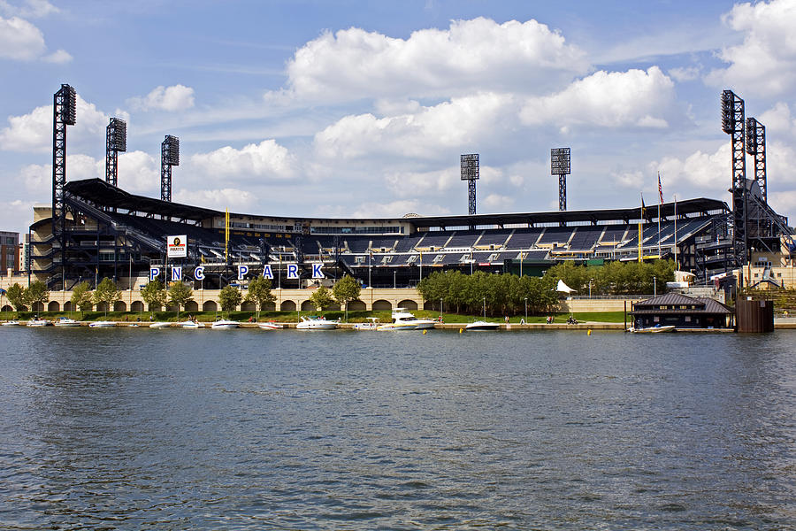 Pittsburgh Photograph - Pnc Park Pittsburgh Pa by Kristen Vota