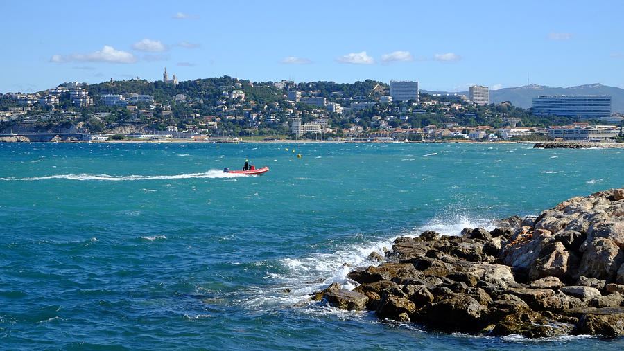 La Pointe Rouge Marseille Photograph
