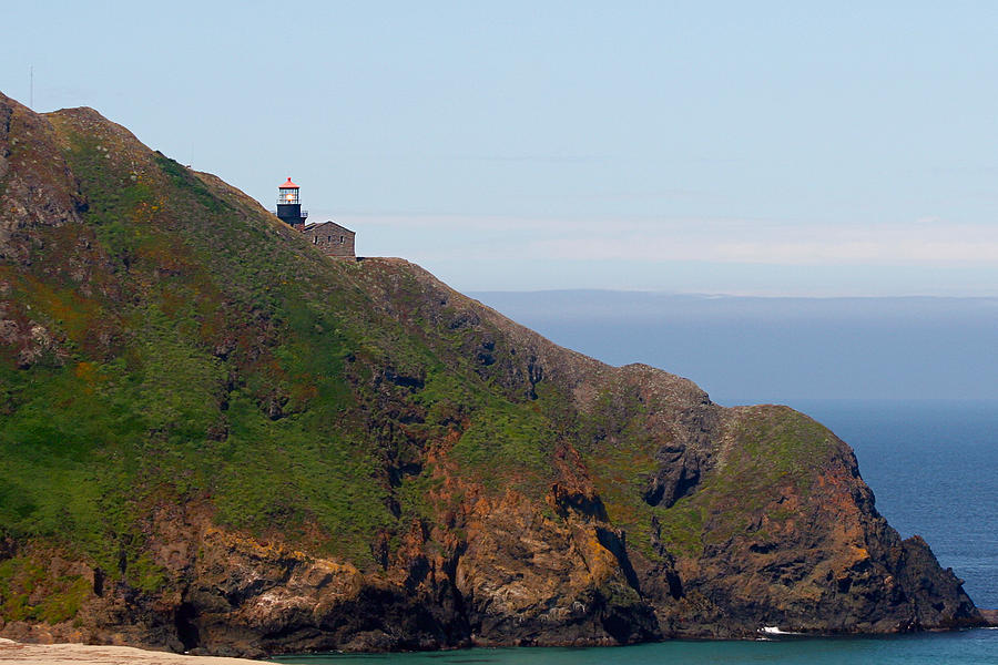 Point Sur Lighthouse Photograph - Point Sur Lighthouse Ca  by Christine Till