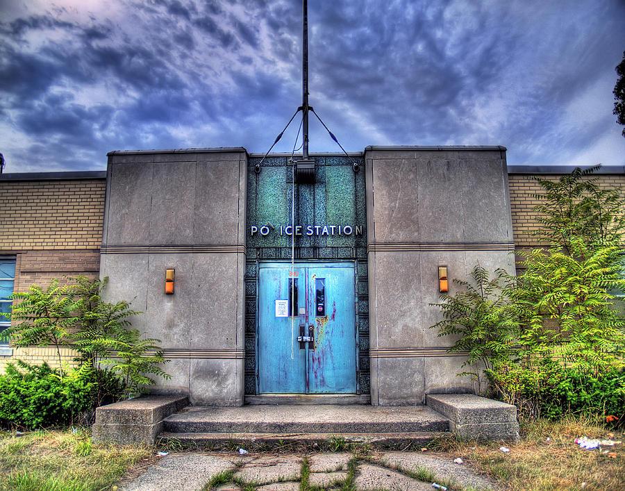 Abandoned Photograph - Police Station by Tammy Wetzel