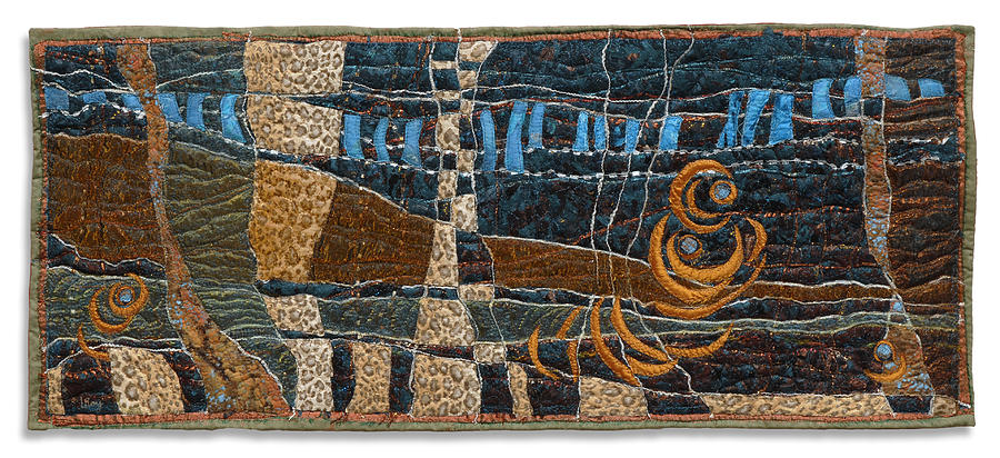 Pond Life 7 Tapestry - Textile