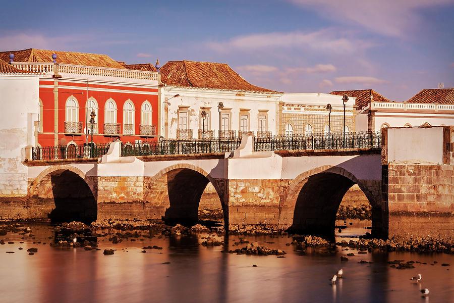 Ponte Romana And River Gilao- Tavira Photograph